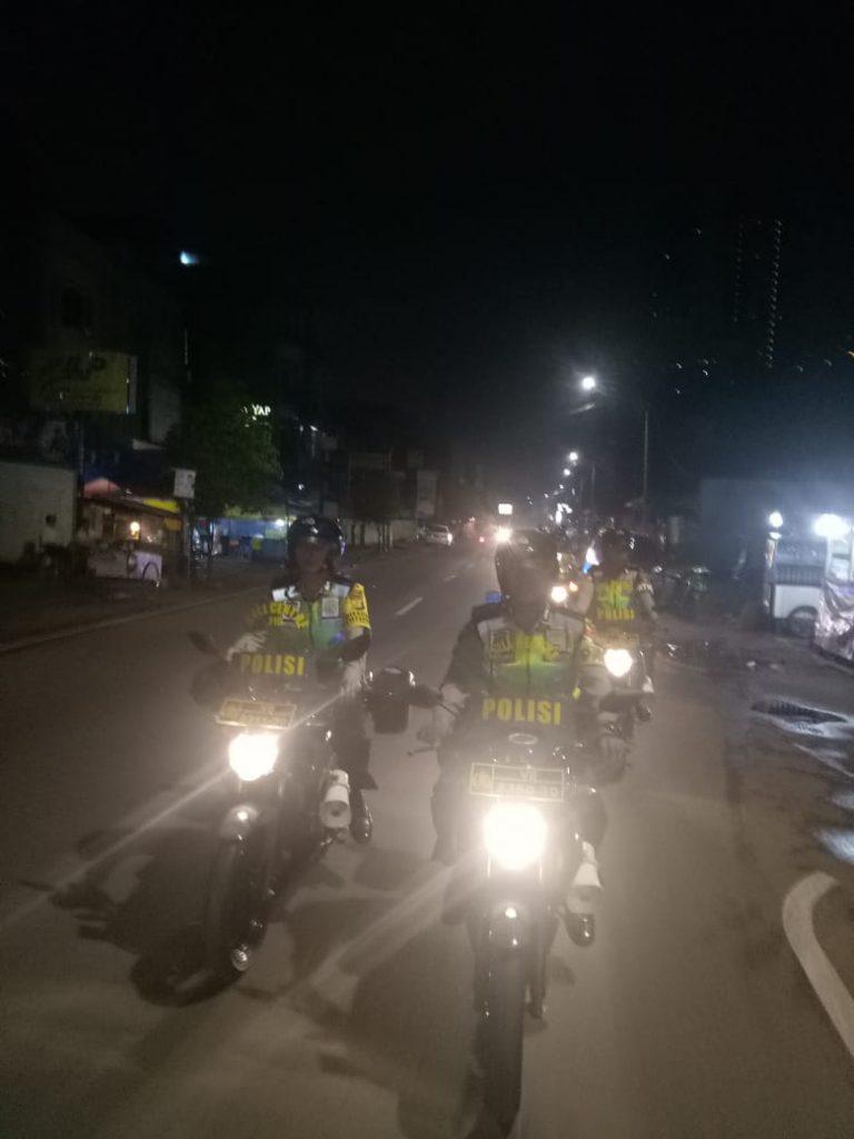 Polsek Tanjung Duren Gelar Patroli Bermotor Gabungan 3 Pilar