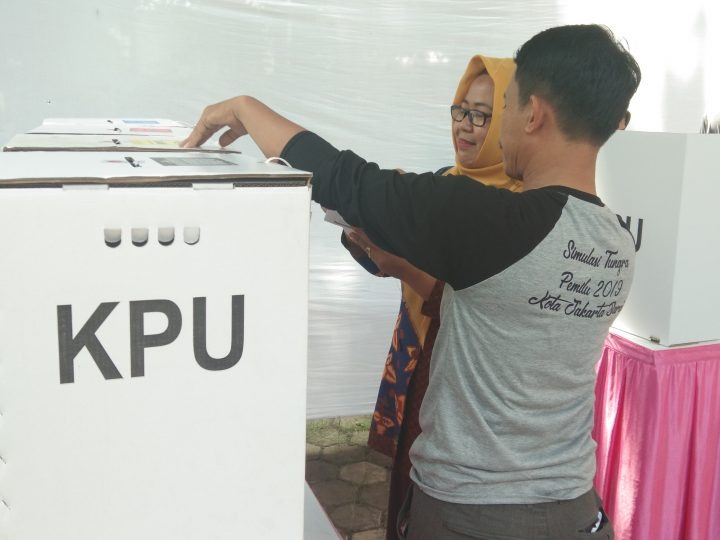 KPU Kalideres Bersama 3 Pilar Gelar Simulasi Pemungutan Suara & Penghitungan Suara