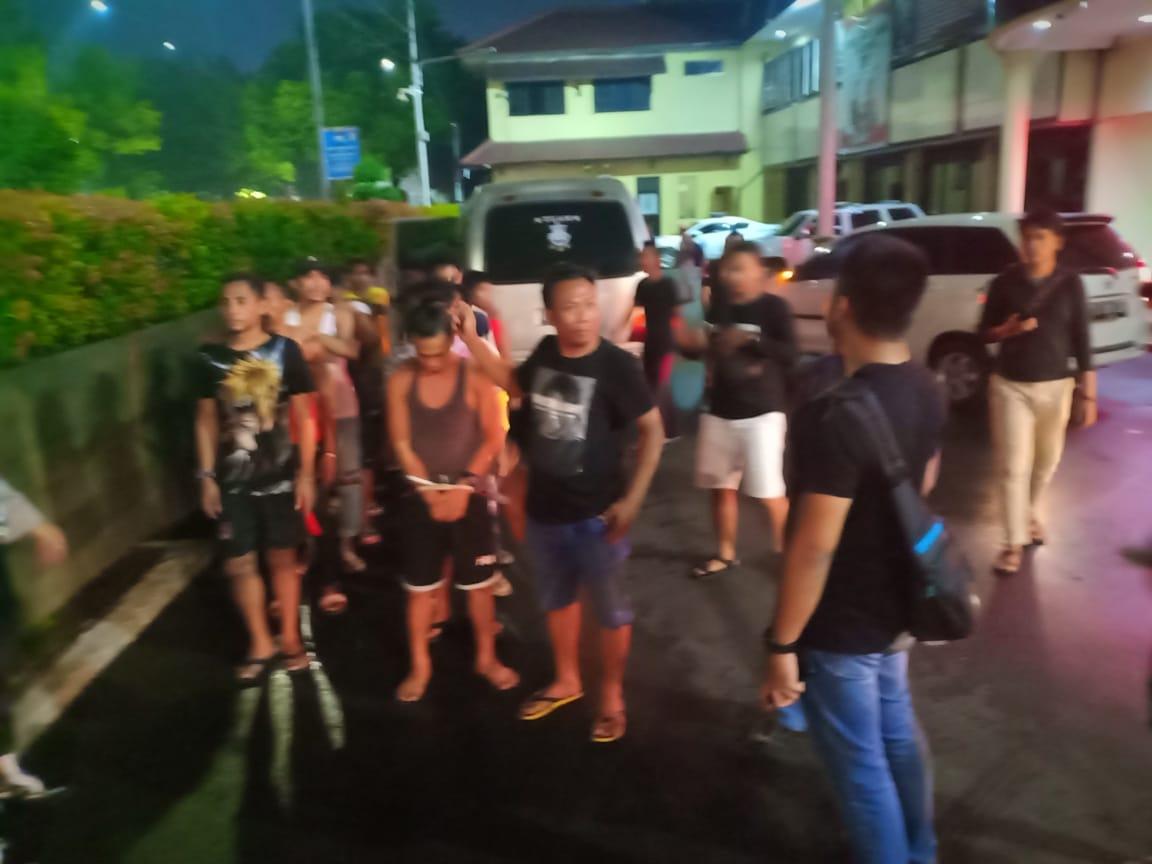 Keroyok Seorang Pemuda Di Cengkareng, Belasan Preman Diamankan Polres Jakarta Barat