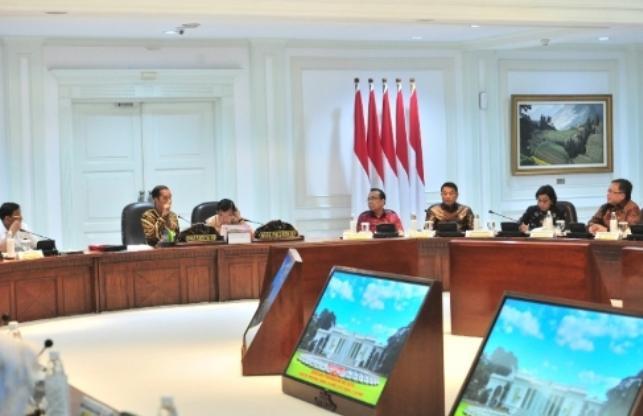 Bahas Pemindahan Ibukota Negara, Presiden' Kita Harus Berpikir Visioner Jangka Panjang