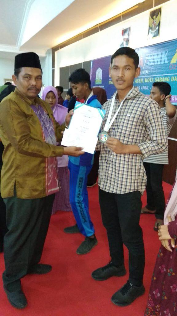 Atlet SMK-PP Negeri Saree menuju O2SN SMK Tingkat Provinsi Aceh 2019
