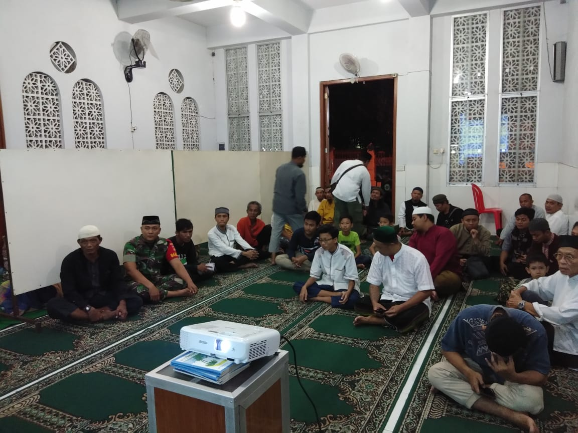 Bulan Suci Ramadhan Menjadi Sarana Komsos Bagi Babinsa Kelurahan Danukusuman