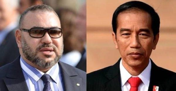 Raja Maroko Ucapkan Selamat Kepada Joko Widodo
