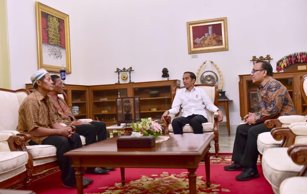 Bertemu Presiden Jokowi, Pemilik Warung Yang Dijarah Akan Kembali Berdagang