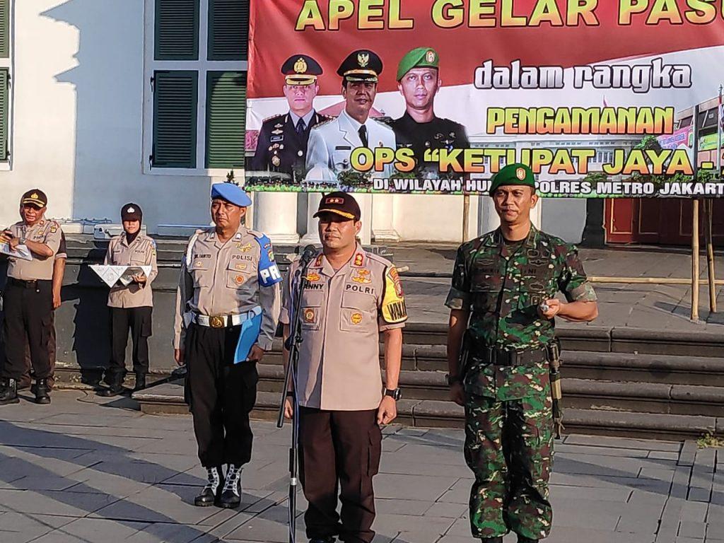 Jelang Lebaran, Polres Jakarta Barat Gelar Apel Pasukan Operasi Ketupat Jaya 2019