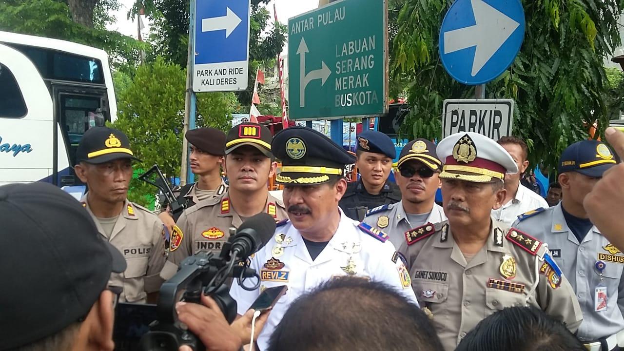 Amankan Arus Mudik, Polisi Siapkan Pos Pelayanan Di Terminal Kalideres