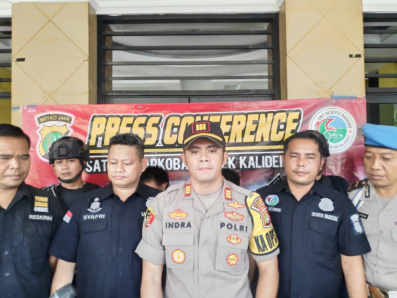 Ungkap Jaringan Narkoba Lintas Provinsi, Polsek Kalideres Amankan 2 Kg Sabu & 150.000 Butir Pil Ekstasi
