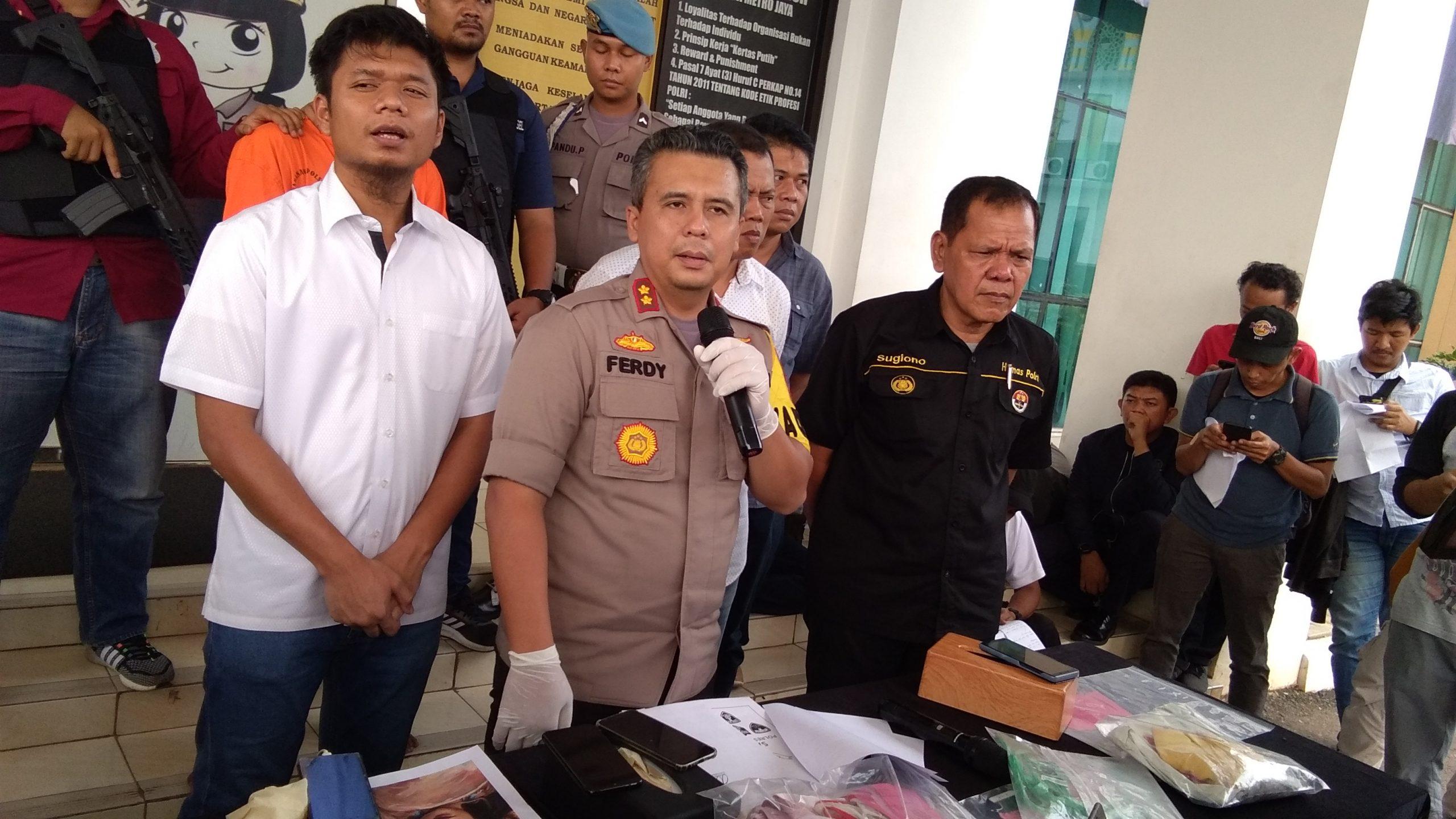 Team Vipers Polres Tangerang Selatan Ungkap Kasus Pembunuhan Secara Paksa Yang Menyebabkan Korban Meninggal Dunia