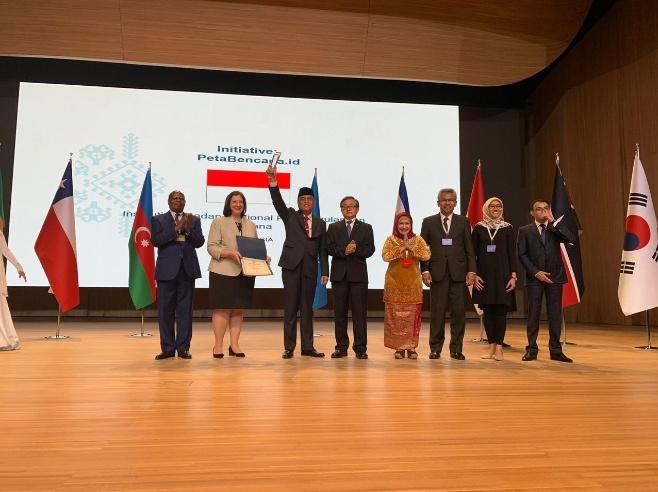 Platform petabencana.id dari BNPB Rebut Penghargaan PBB
