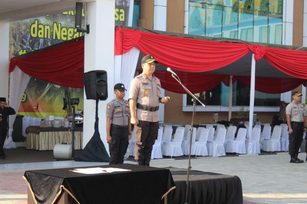 Sertijab Kasat Reskrim Polres Tangerang Selatan AKP Alexander Yurikho Kepada AKP Muharram Wibisono Adipradono