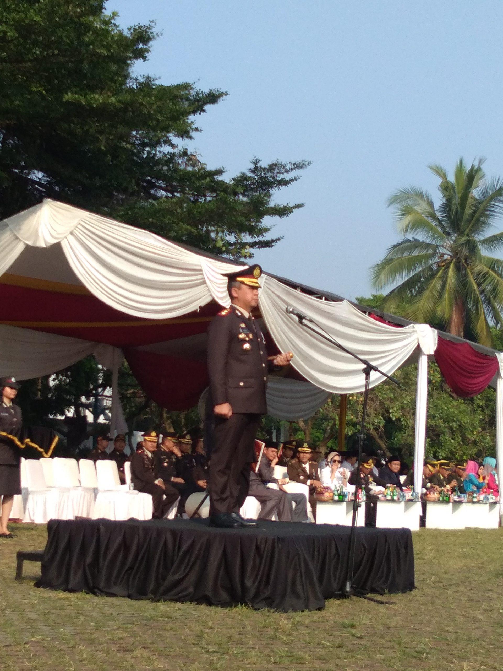 Puncak Dirgahayu Bhayangkara Ke-73/2019, Ka-Polres Tangerang Selatan, Menyampaikan Amanat Presiden