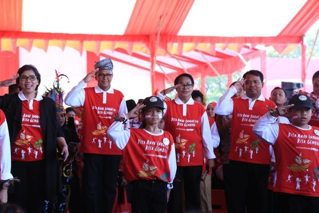 Hari Anak Nasional 2019, Kita Anak Indonesia, Kita Bergembira