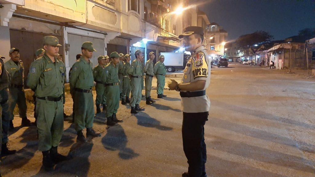 Jaga Kamtibmas, Polsek Cengkareng Bersama Tiga Pilar Gelar Apel Bersama Security di Kawasan 1000 Ruko