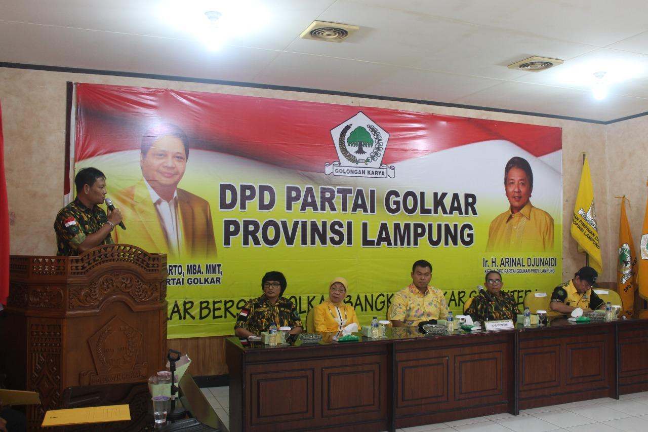 Darlian Pone : AMPG Lampung Siap Wujudkan Harapan Kaum Milenial.