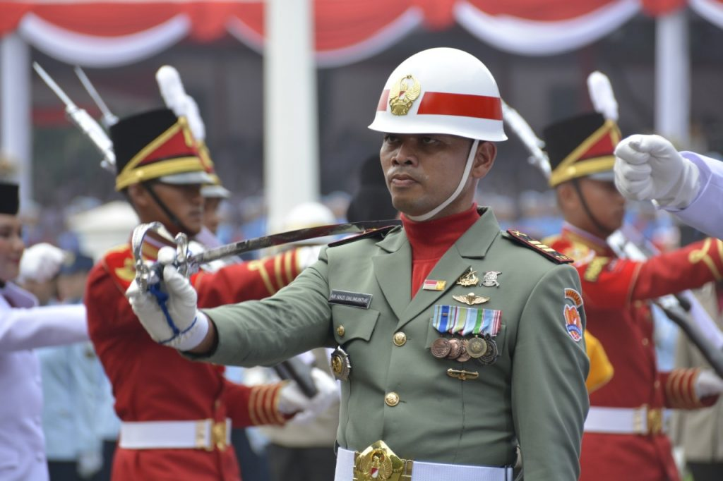 Kapten Inf A.R. Razi Furqon Dalimunte, Danki Paskibraka 2019