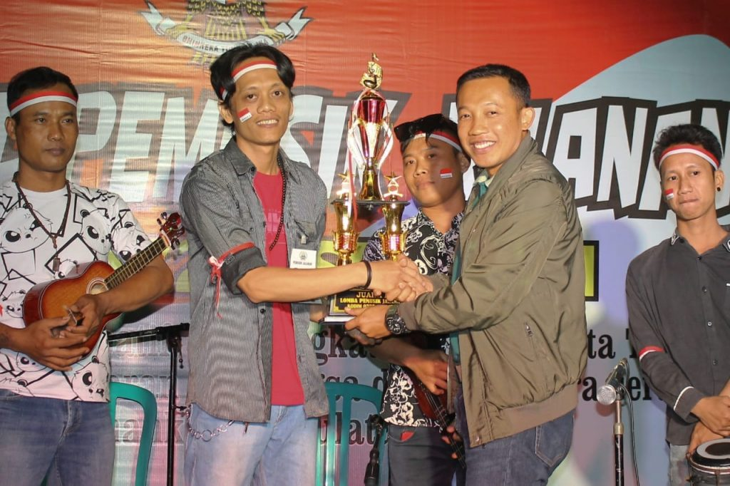 Apresiasi Para Pekerja Seni, Kodim Sragen Gelar Festival Musik Jalanan