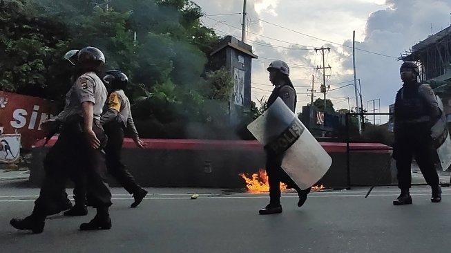 Massa Perusuh Dipukul Mundur,  Kondisi Papua Berangsur Kondusif