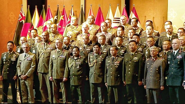 Jenderal TNI Andika Perkasa Lakukan Pertemuan Bilateral dengan Enam Kasad Negara Sahabat