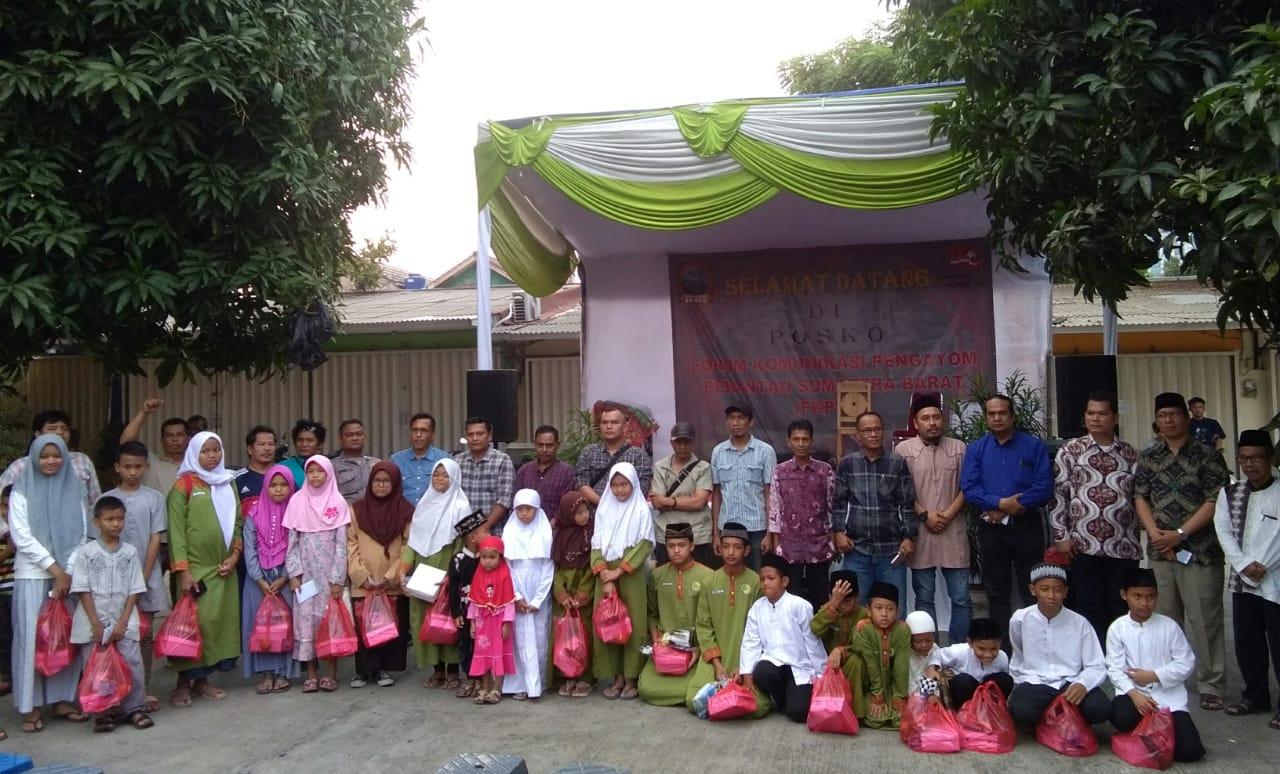 Pengukuhan DPP (FKPPS) Kota Tangerang Selatan' Gelar Santunan Anak Yatim/Piatu