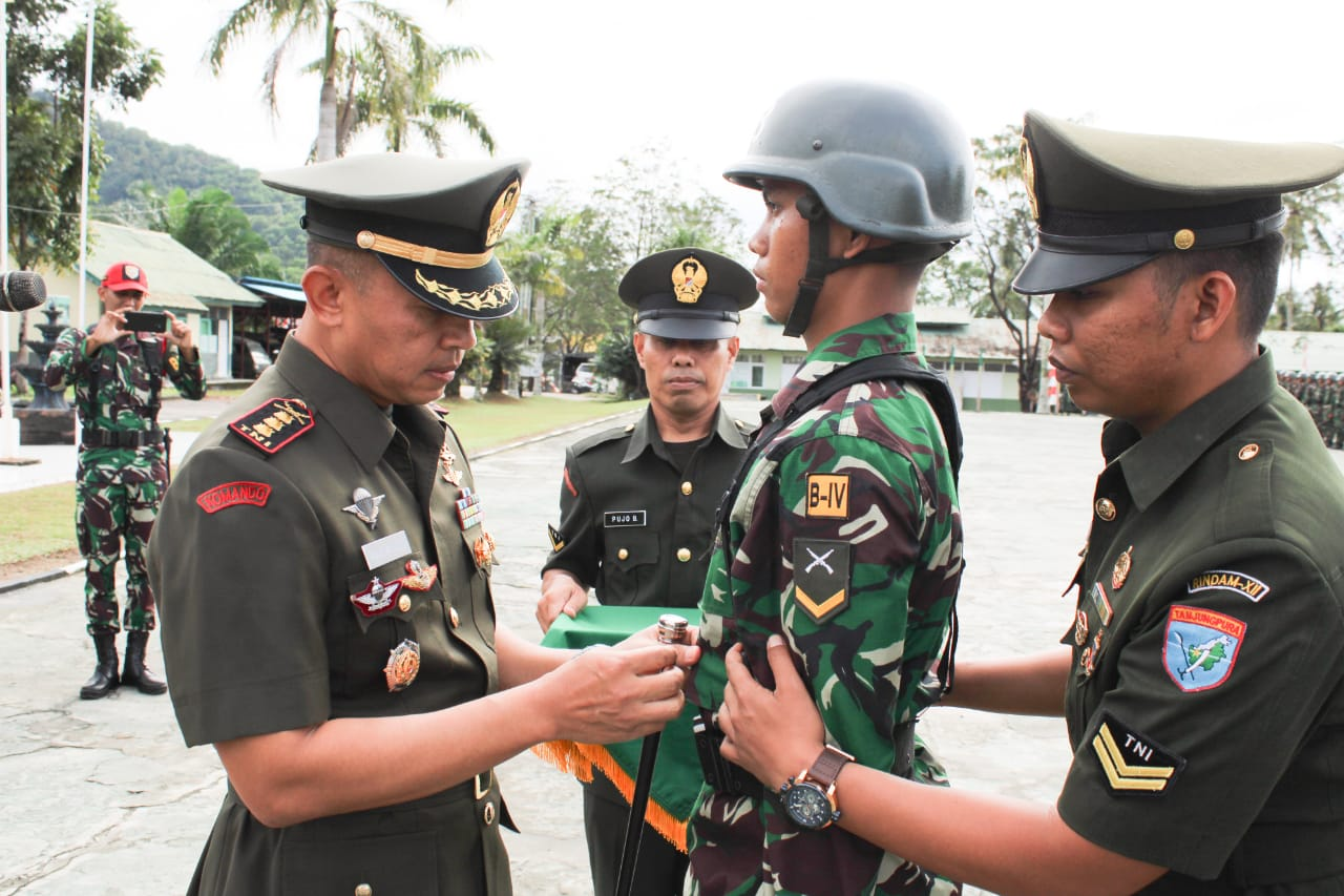 Dikmaba TNI AD TA. 2019 Resmi Dibuka, Ini Pesan Pangdam XII/Tpr Kepada Bintara Siswa