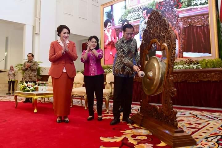 Buka Kongres Kowani, Presiden Jokowi: Bangsa Ini Butuh Peran Besar Kaum Ibu Untuk Wujudkan Indonesia Maju