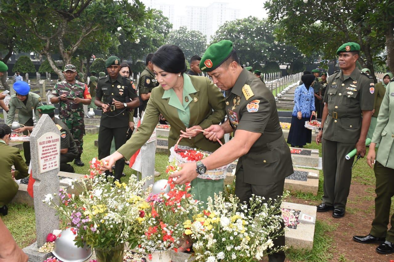 Kasad : Hari Juang TNI AD, Sejarah Dan Semangat Kemanunggalan TNI-Rakyat
