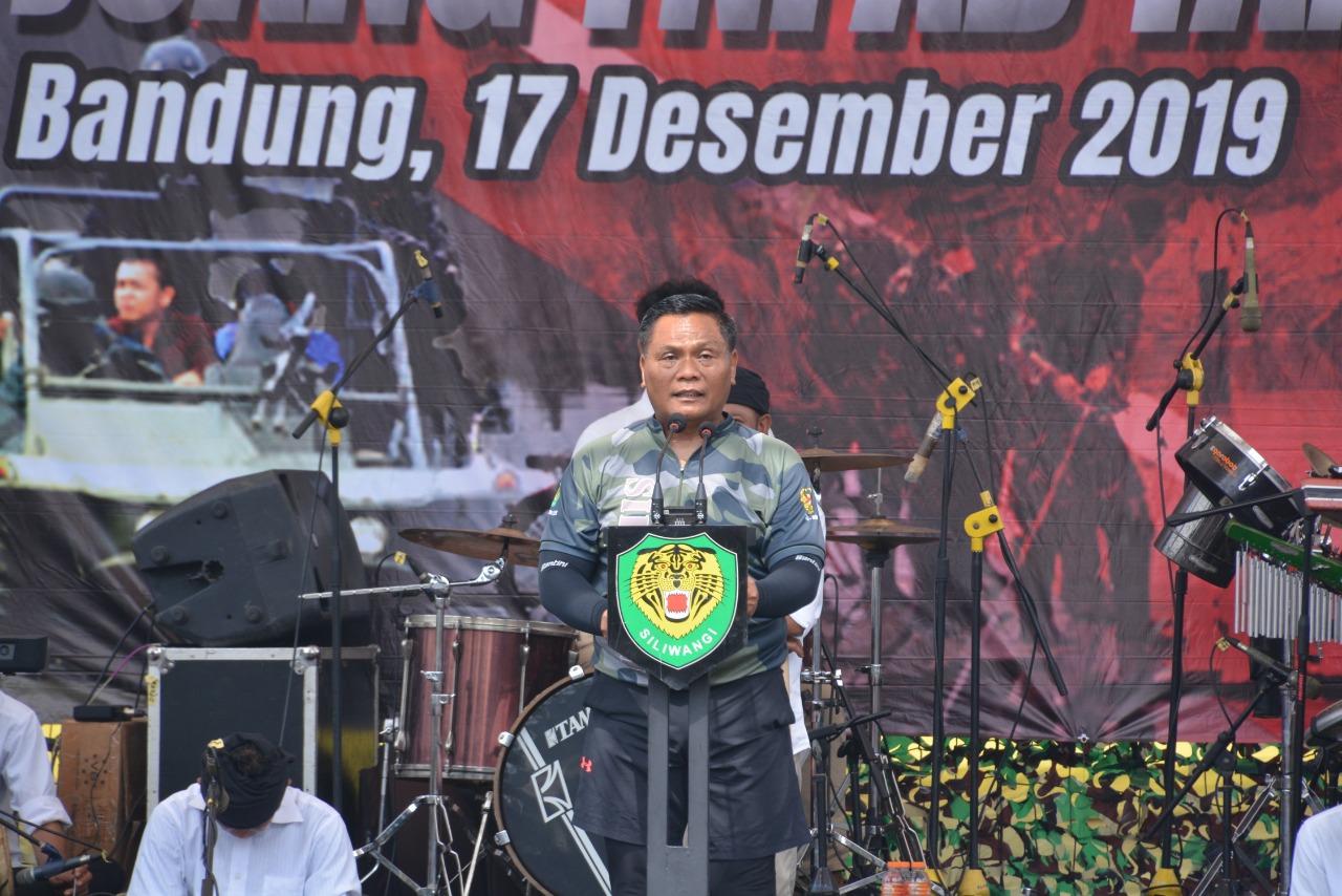 Pangdam III/Siliwangi Pimpin Syukuran Hari Juang TNI AD Tahun 2019