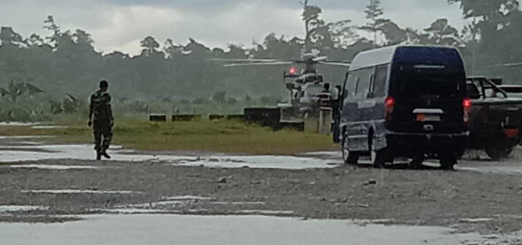 Dua Prajurit TNI Gugur Dalam Menjamin Keamanan Warga Papua Yang Akan Merayakan Natal