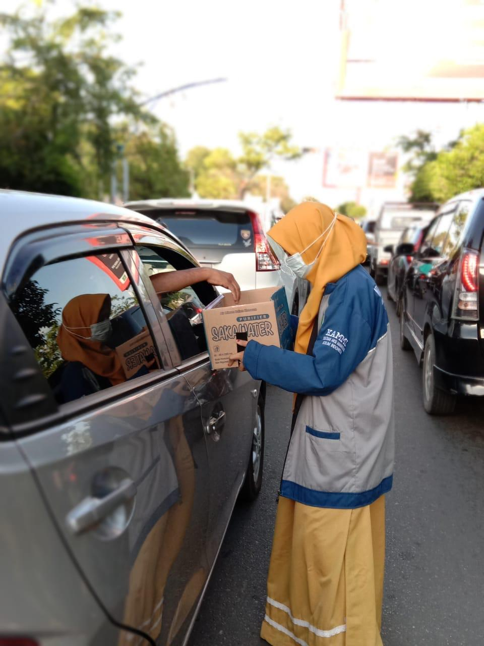 KAMMI Turun Aksi Galang Dana Untuk Korban Banjir Jabodetabek