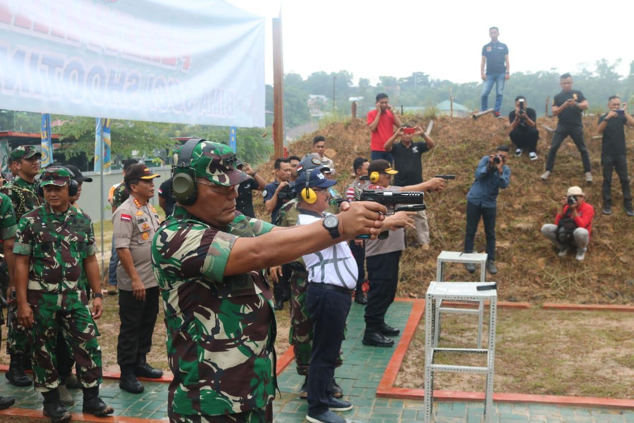 Kasum TNI Resmikan Lapangan Tembak Bima Suci Shooting Club Harap Lahirkan Atlet Penembak Profesional