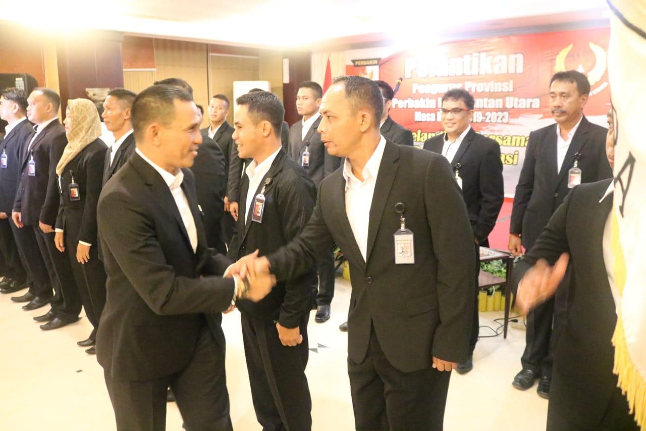 Ketua Umum PB Perbakin,Letjen TNI Joni Supriyanto Lantik Kepengurusan Perbakin Provinsi Kaltara