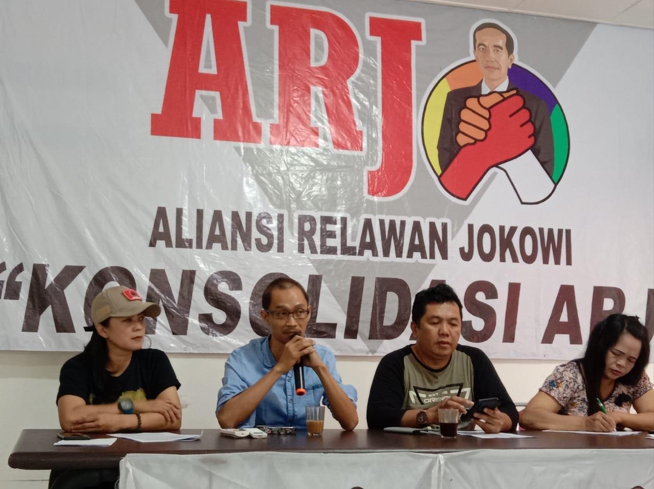 Rosyid Ajak Relawan Jokowi Se Indonesia Dirikan Rumah Ekonomi Rakyat