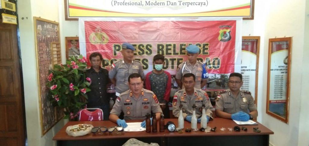 Pelaku Bom Ikan Ditangkap Di Rote Nusa  Tenggara Timur