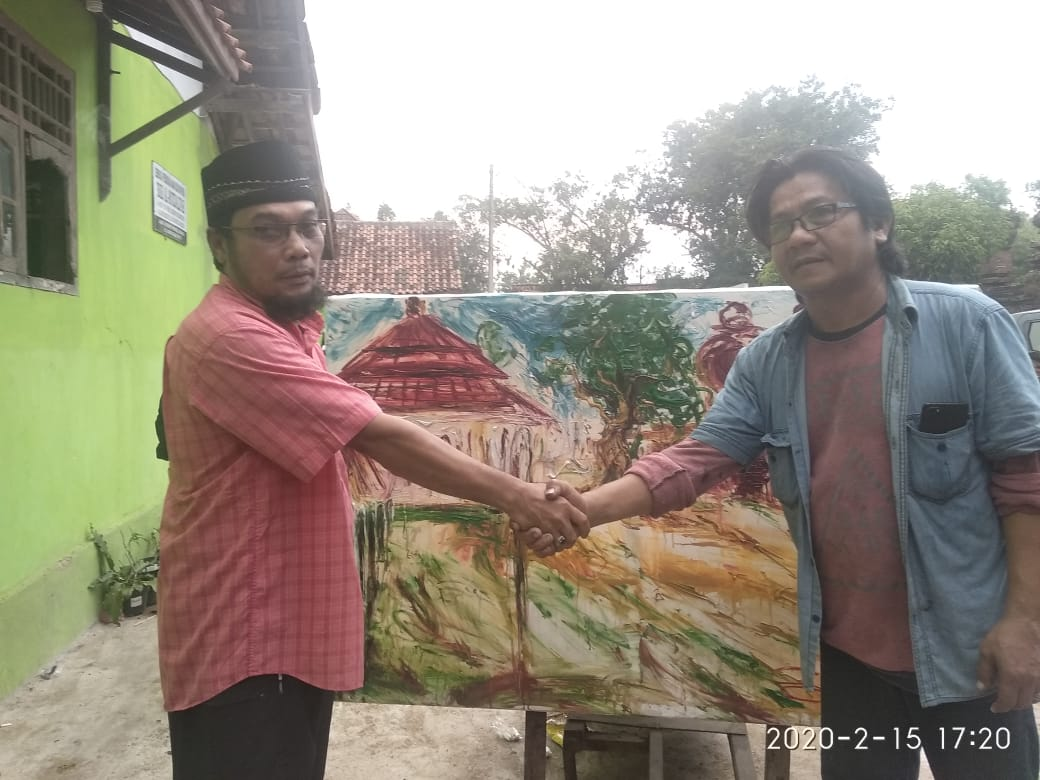 "Pelukis Maestro SUGENG SANTOSO"" On The Spot Ke Banten"