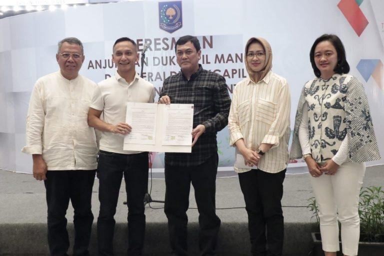 Peresmian Gerai Disdukcapil & Launching Anjungan Dukcapil Mandiri (ADM) Di Mall Teras Kota BSD