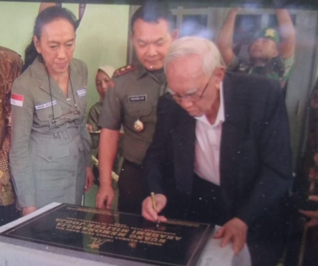 Gubernur Akmil Resmikan Museum Memorabilia Akmil Yogyakarta