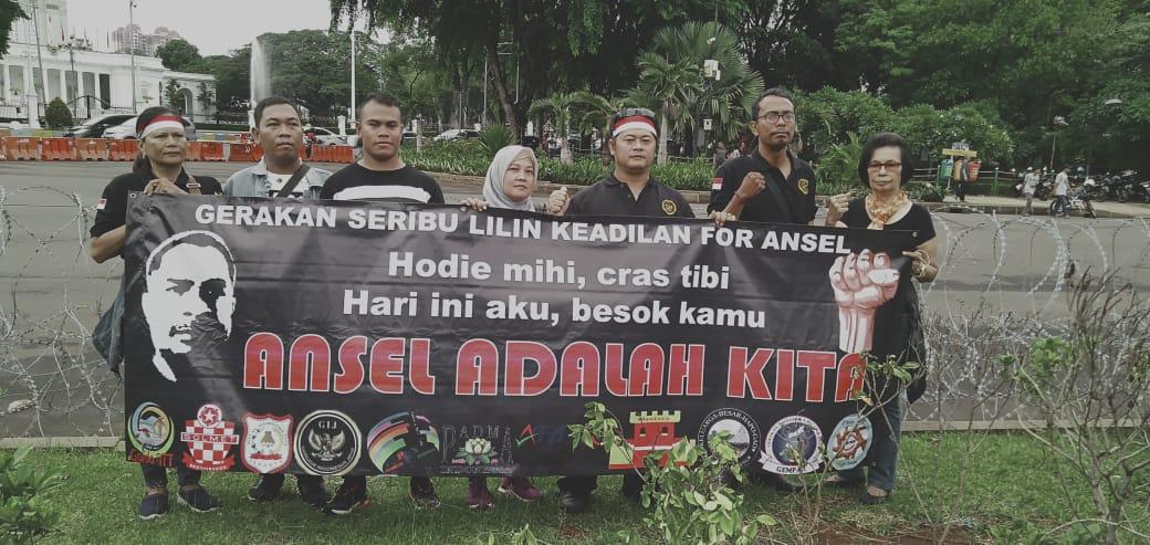 Garuda Indonesia Jaya Seribu Lilin Keadilan For Ansel