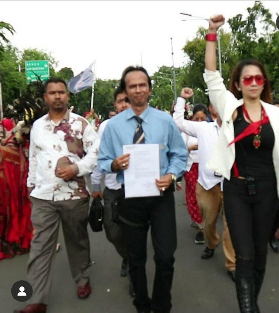 Sekjen presidium Adat Nusantara, Merah Putihkan Mahkamah Agung