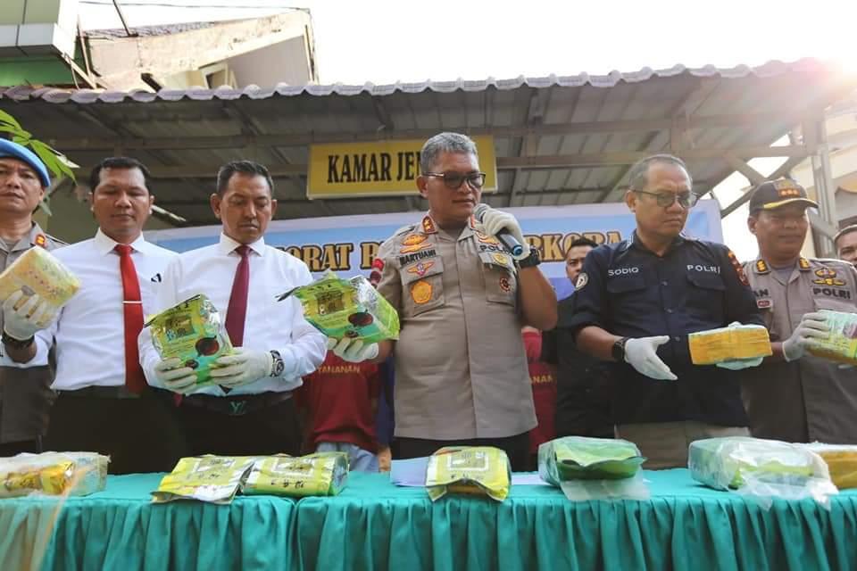 Irjen Pol. Drs. Martuani Sormin, Sumatera Utara Darurat Narkotika