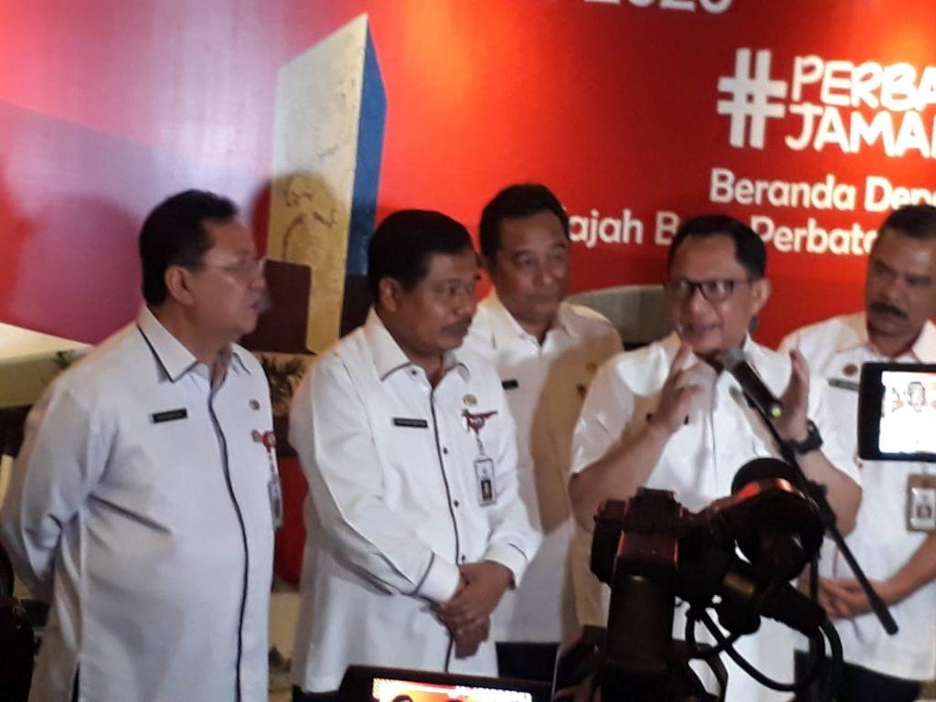 BADAN NASIONAL PENGELOLA PERBATASAN  REPUBLIK INDONESIA