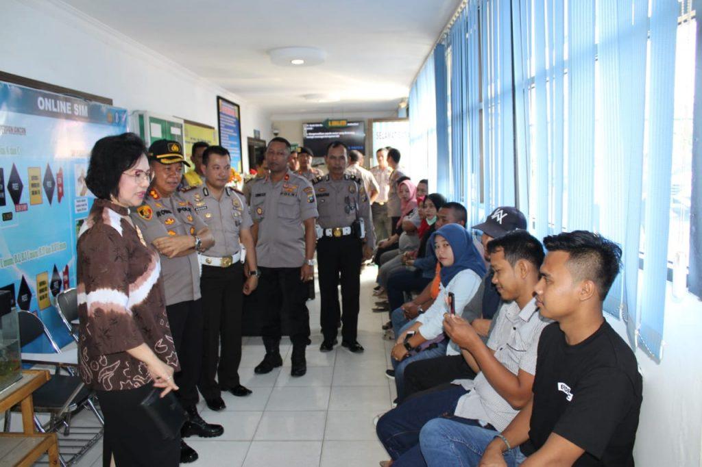 Polres Sergai Terima Tim Penilai Internal (TPI) Mabes Polri menuju  WBK