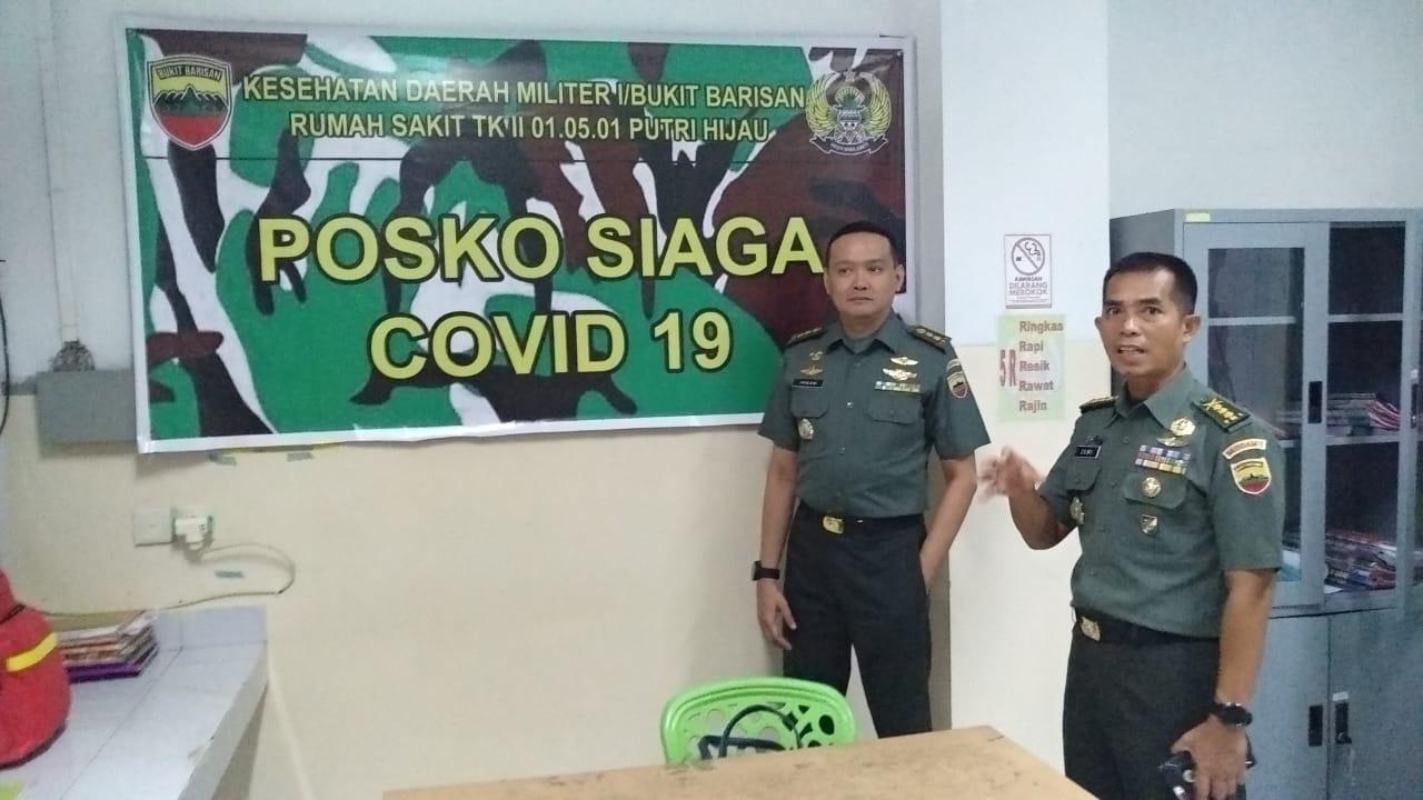 Rumkit Tk II Putri Hijau Medan Dirikan Posko Siaga Covid-19