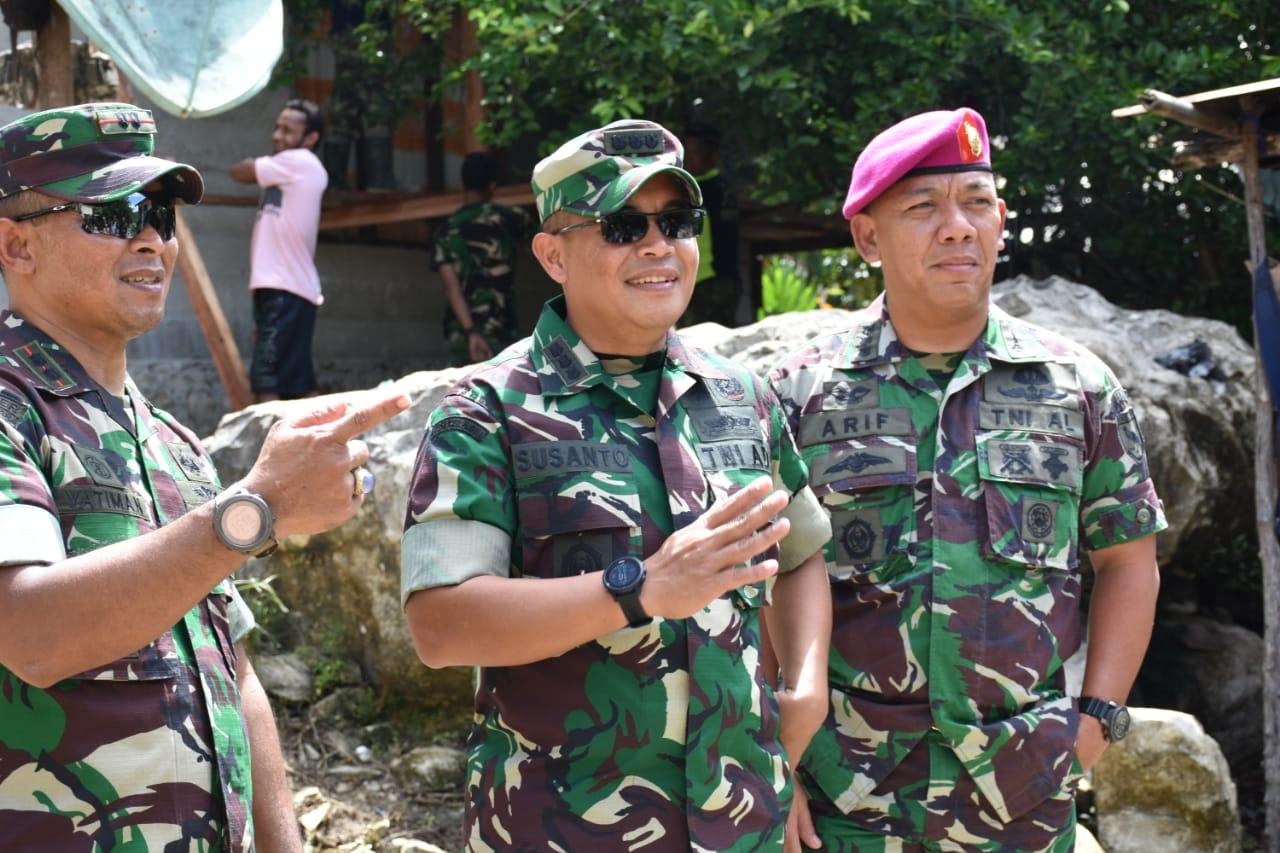 """TMMD Ke-107 Kodim 1803/Fakfak Bergerak, """"NKRI Sudah Final"""""""