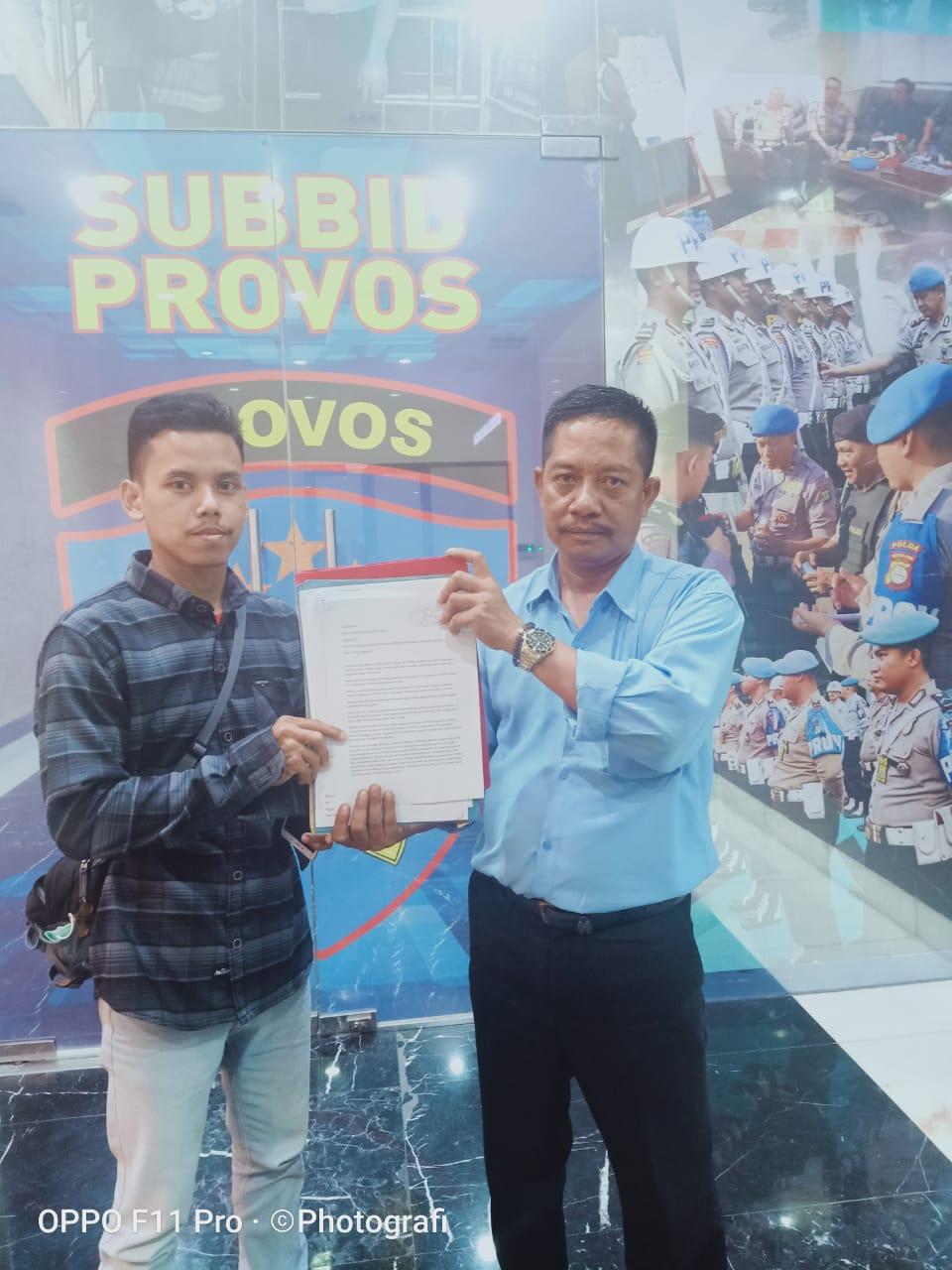 Oknum Anggota Polsek Sukatani Dilaporkan Ke Propam Poldametro Jaya