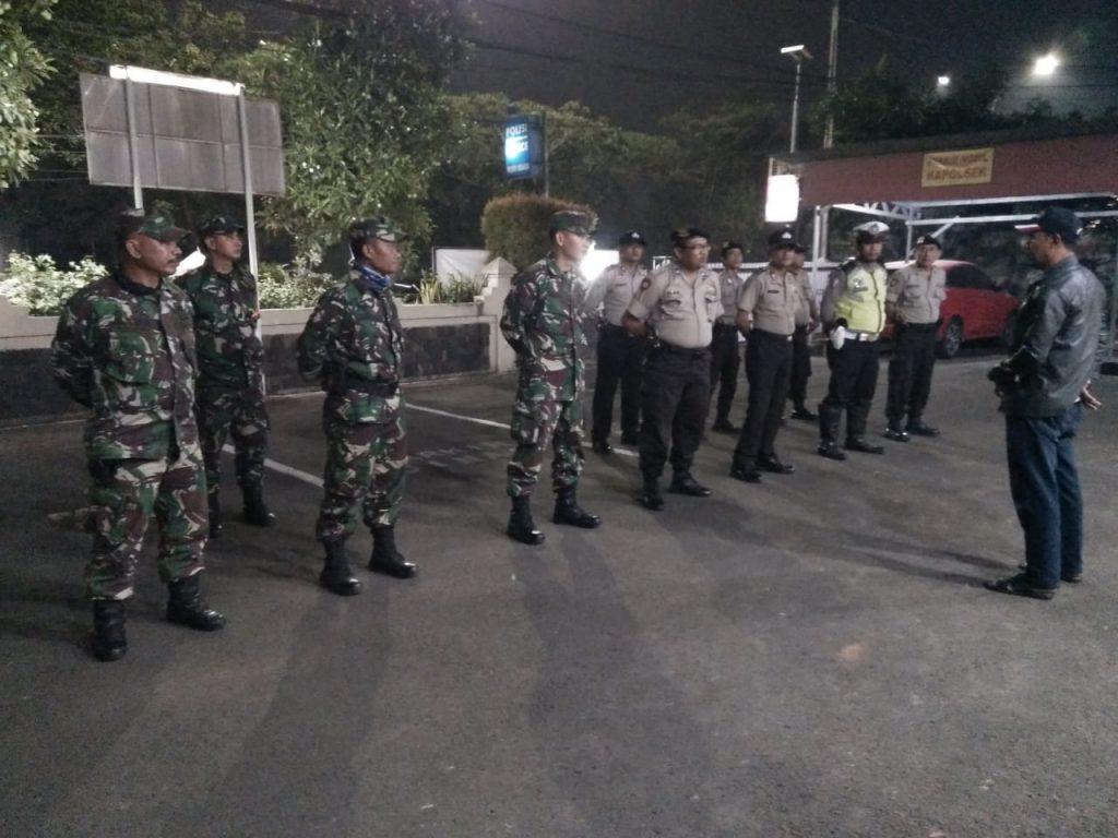 Memutuskan Mata Rantai Covid – 19 TNI Dan Polri Patroli Di Neglasari