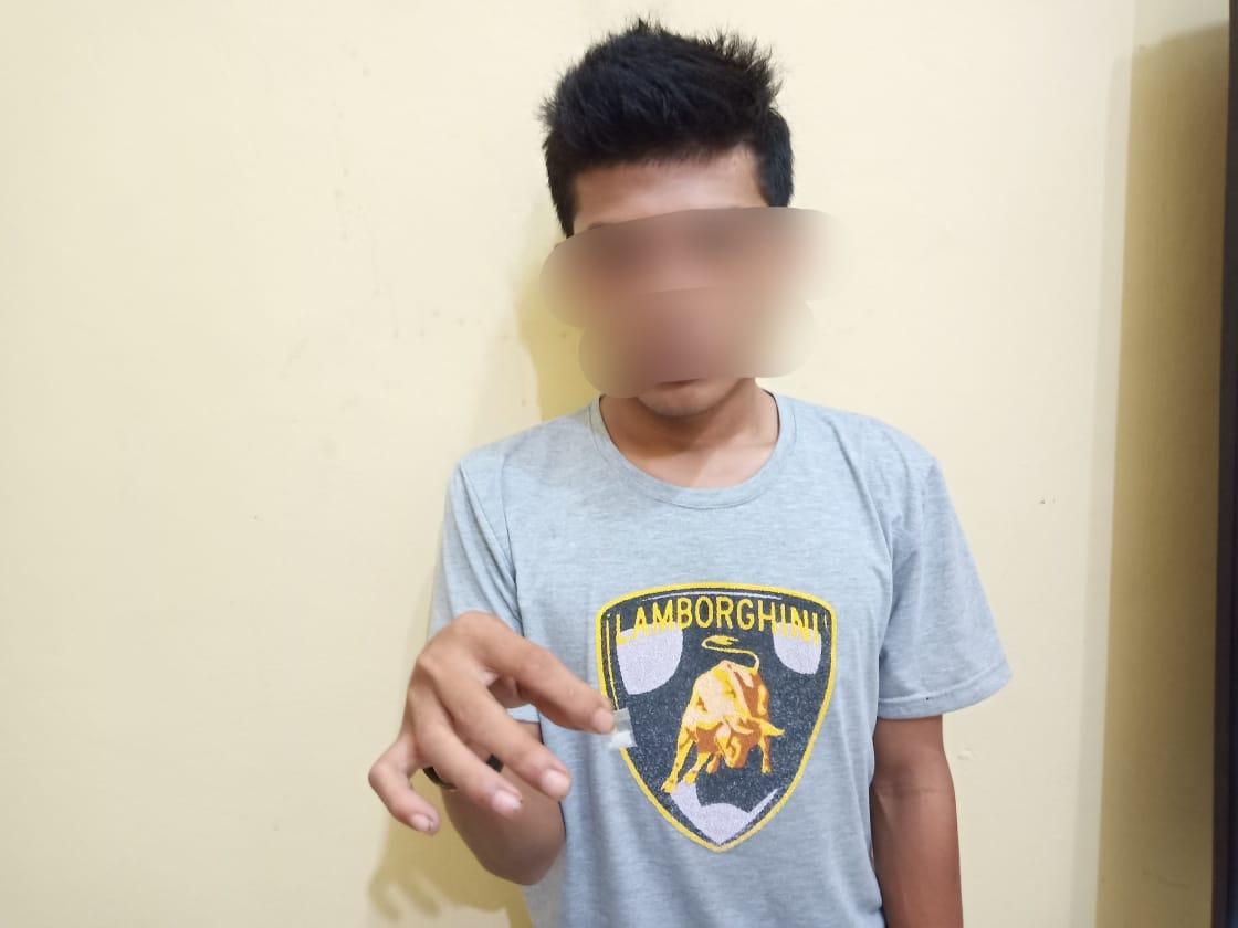 Pengaruh Pergaulan Bebas, Pemuda Asal Desa Sentang Ditangkap Polisi Kasus Sabu