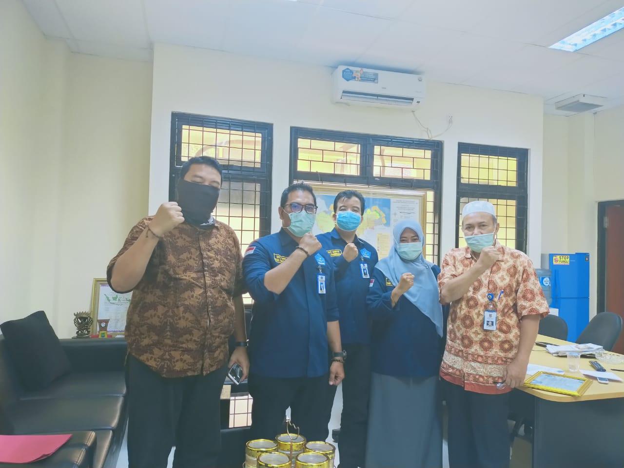 Sambangi Kantor Kesbangpol, GMPRI Jemput Bola Bantu Pemda Kabupaten Tangerang Tangani Covid-19