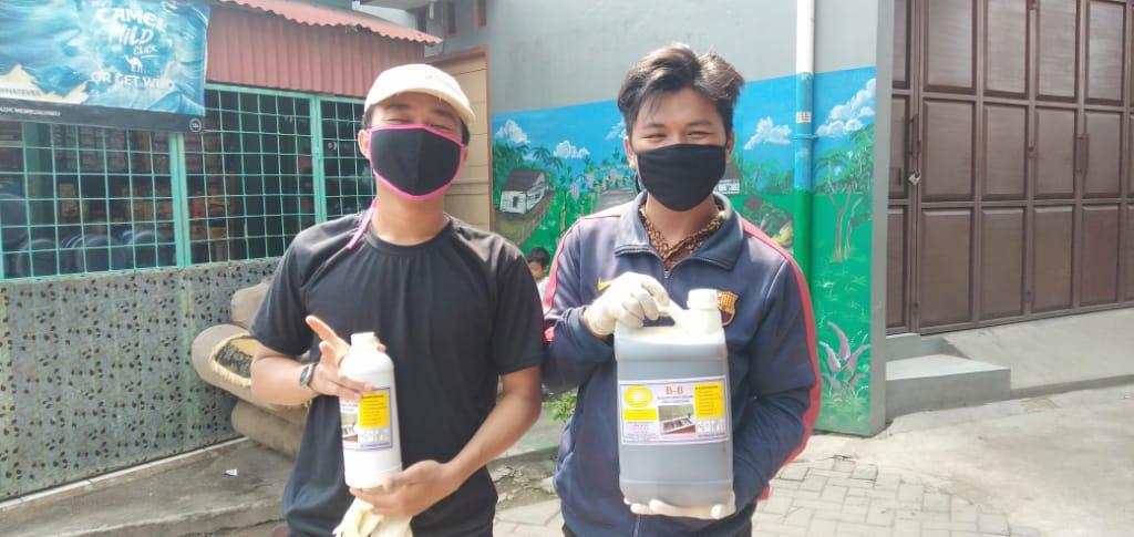 Profesor Rusdi Chaerusdi Sebut' Cairan Mikroba Sangat Ampuh Mencegah Wabah Corona Covid 19
