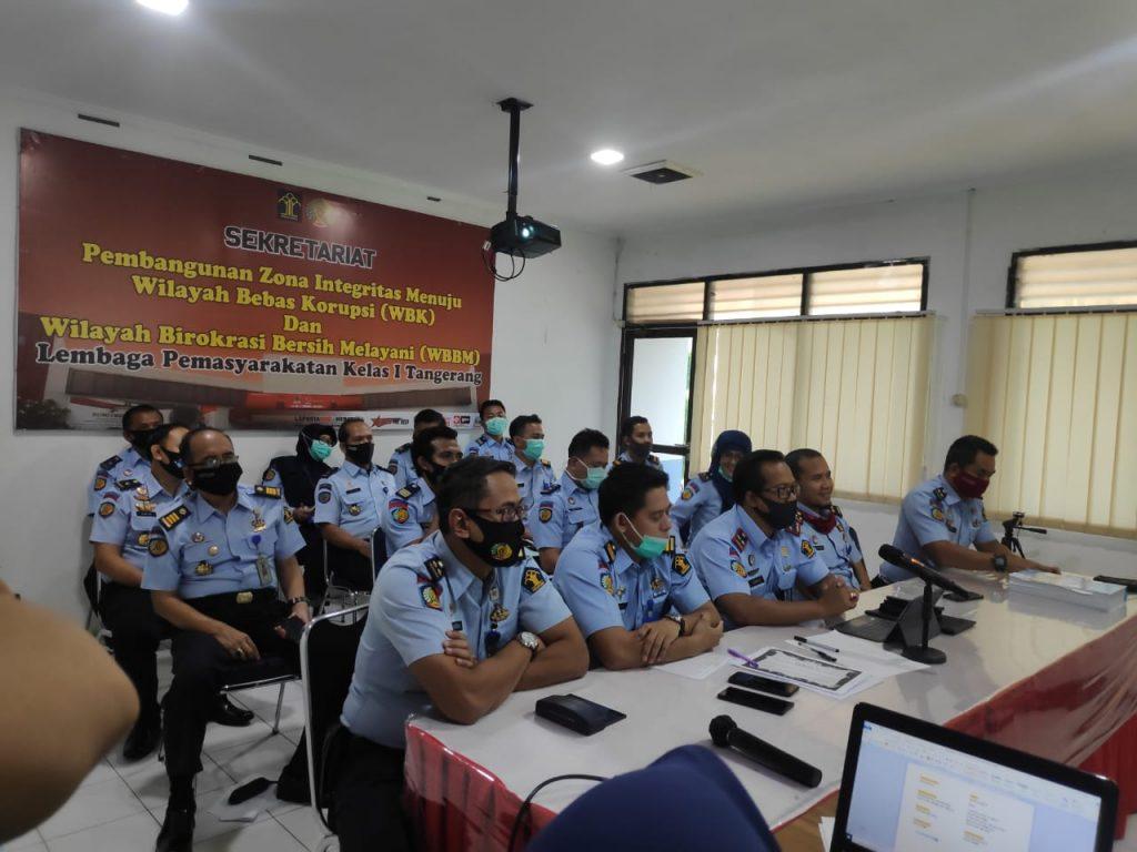 Lapas kelas 1 Tangerang Berikan Layanan 3 Aplikasi Pelayanan Online