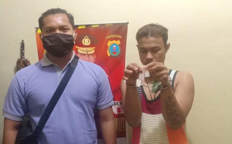 Team Khusus Anti Bandit Berhasil Bekuk Pengedar Sabu